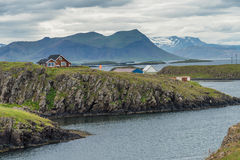 Stykkisholmur harbor, Iceland Royalty Free Stock Photography
