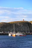 Stykkisholmur harbor, Iceland Royalty Free Stock Photos