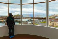 Stykkisholmur Islande de musée de volcan Photos libres de droits