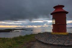 Stykkisholmur latarnia morska Zdjęcia Stock