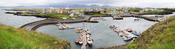 Stykkisholmur, Snaefellsnes,  Iceland Royalty Free Stock Photos