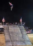 Stylów wolnych kowbojów motocross Zdjęcie Stock