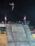 Stylów wolnych kowbojów motocross Zdjęcia Stock