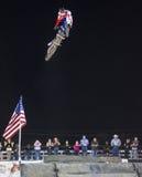 Stylów wolnych kowbojów motocross Obrazy Royalty Free