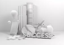 styl życia biznesowy model Zdjęcie Stock
