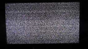 Styl życia hałasu tv tło Telewizja ekran z statycznym hałasem powodować bad sygnału przyjęciem Telewizja ekran zbiory