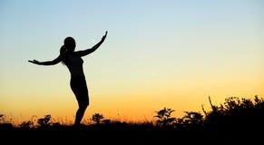 styl życia zdrowa kobieta zdjęcia stock