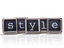 styl Zdjęcie Stock