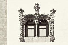 styl baroku okno Obraz Stock