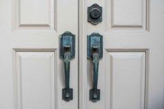 styl Drzwiowe rękojeści Zdjęcie Royalty Free