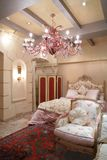 styl klasyczny sypialnia Fotografia Stock