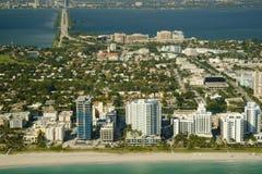 styl Miami budynku. Zdjęcie Stock
