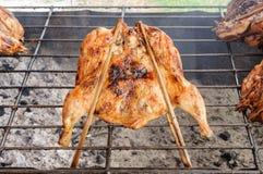 Styl piec na grillu kurczak Obraz Stock