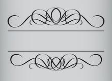 styl ramowy rocznik royalty ilustracja