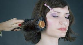 styl włosów Zdjęcie Stock