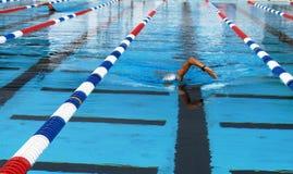 styl wolny pływaczka Fotografia Royalty Free