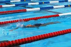 styl wolny pływaczka Zdjęcie Royalty Free