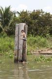 Styl życia Wietnamscy krajów dzieci Zdjęcie Royalty Free