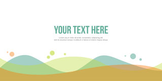 Style Abstract background for header website. Vector art royalty free illustration