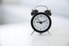 Style alarm clock Royalty Free Stock Images