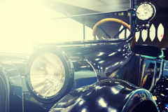 Style antique car with toning and light Stock Photography