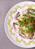 Style asiatique délicieux de crevette Images stock