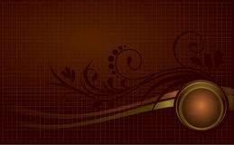 Style background vector. Old stylish backgrounds with ornaments Stock Photography
