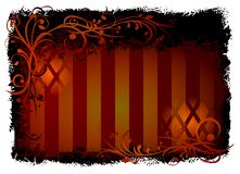 Style backround vector black a. Back and red styleish backgrounds with ornaments Royalty Free Illustration