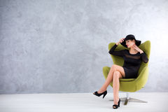 Style and beauty combined Royalty Free Stock Images