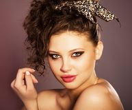 Style and Beauty. Fashion art photo stock images