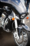 Style black motorcycle Stock Photo