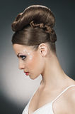 Style of bride Royalty Free Stock Image