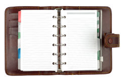 Style Brown Notebook Stock Image