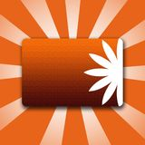 Style Button Banner Orange Royalty Free Stock Images