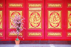 Style chinois d'architecture Image stock