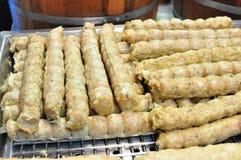 Style chinois de boule de fruits de mer Image libre de droits