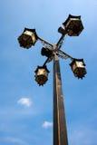 Style chinois de lampadaire Image stock