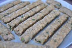 Style chinois de petit pain de ressort Photo libre de droits