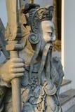 Style chinois de statue en Wat Pho, Bangkok Thaïlande Photo stock
