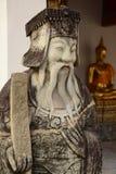 Style chinois de statue en Wat Pho, Bangkok Thaïlande Images libres de droits