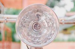 Style classique de vintage de phares de bicyclette Photo stock