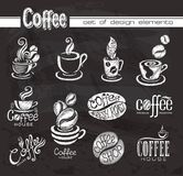Style coffee decoration . Stock Photos