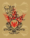 Style without control Royalty Free Stock Photography