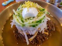 Style coréen de nourriture images libres de droits