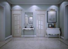 Style d'avant-garde de hall d'entrée Image stock