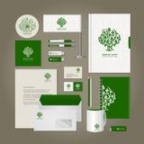 Style d'entreprise - arbre illustration stock