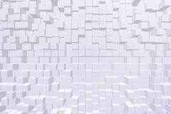Style de bloc de l'effet 3d de papier peint Photos libres de droits