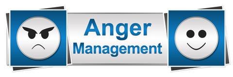 Style de bouton de la gestion deux de colère illustration libre de droits
