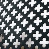 Style de deco d'Amsterdam de barrière de grille de fer Images stock