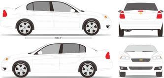 Style de dimension de voiture Images stock